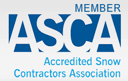 ASCA Accredited Snow Contractors Association logo